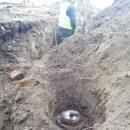 Под Киевом возле школы нашли столетние скелеты в гробах (ФОТО)