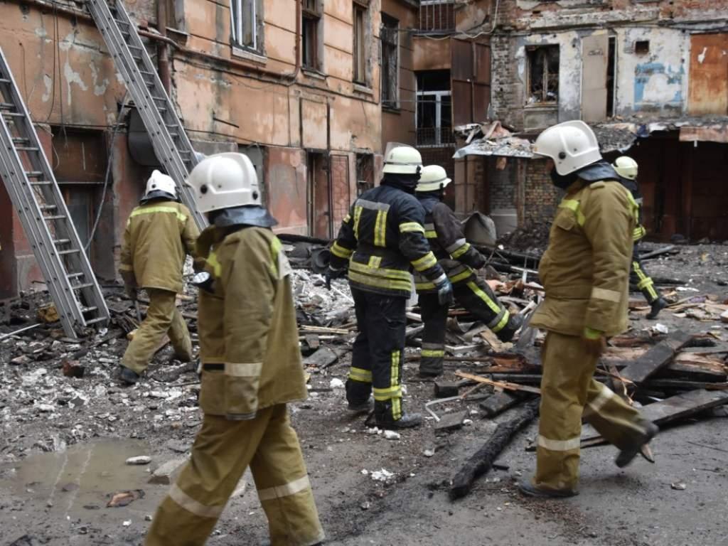 Пожар в колледже в Одессе: Тела погибших идентифицируют до конца года