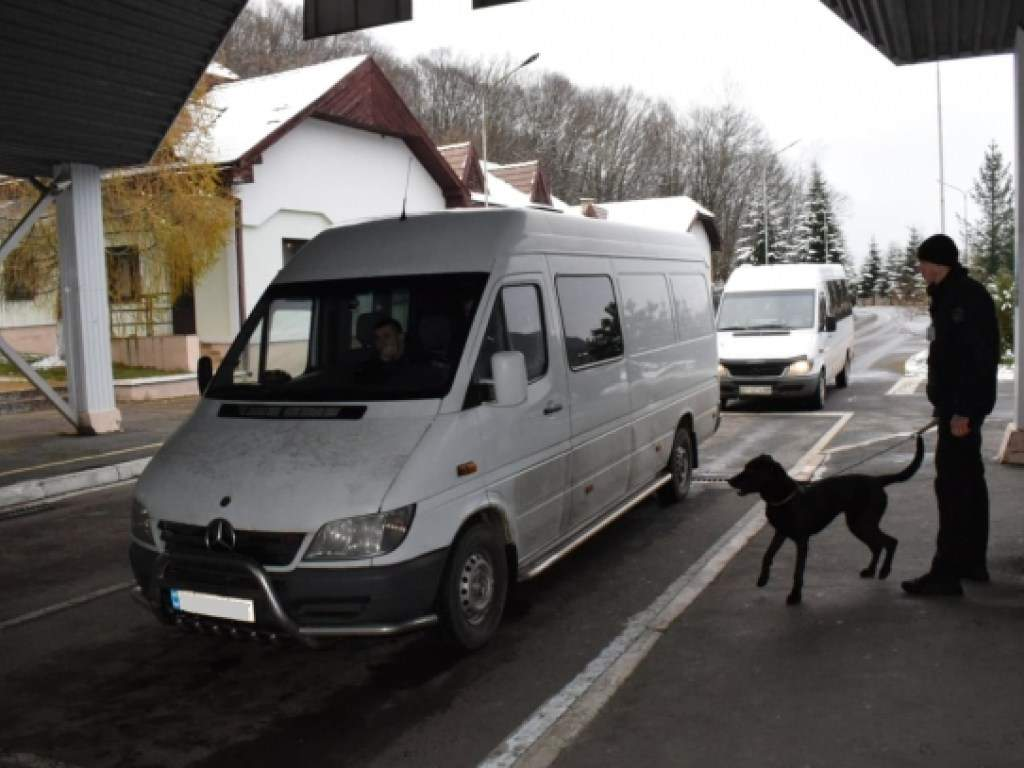 Пограничники на границе со Словакией задержали группу граждан-нелегалов (ФОТО)