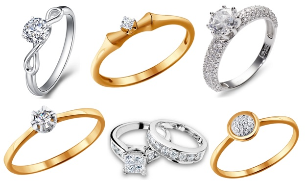 Каталог украшений на любой вкус - кольца для помолвки