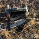 В Тернопольской области перевернулся Opel : Есть пострадавшие (ФОТО)