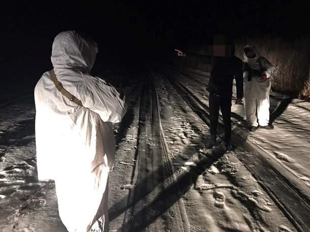 На границе задержали нелегальных мигрантов (ФОТО)