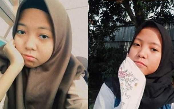 В Индонезии 16-летняя девочка случайно нашла близняшку с помощью соцсети