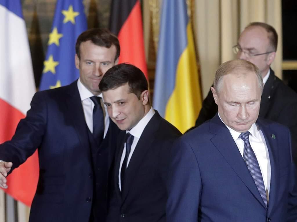 В СМИ анонсировали встречу Владимира Путина и Владимира  Зеленского в Израиле