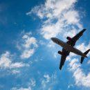 В самолет, который заходил на посадку в аэропорту Львова ударила сильная молния