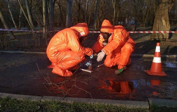 В общественном месте во Львове разлили почти один килограмм ртути: подробности ЧП (ФОТО)