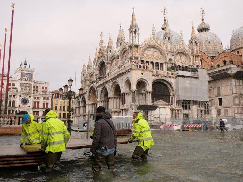 Несколько миллионов человек из прибрежных районов стран ЕС окажутся к концу века в зоне затопления