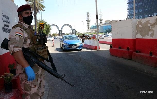 Центр столице Ирака подвергся ракетному обстрелу