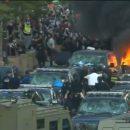 В Атланте митингующие разгромили штаб-квартиру CNN