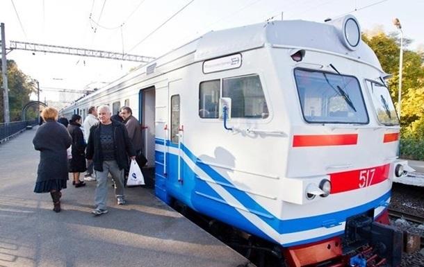 В Киеве переносится запуск городской электрички