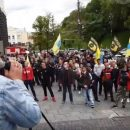 Под Кабмином митингуют Евробляхи