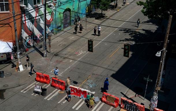 Демонстранты захватили целый район в Сиэтле