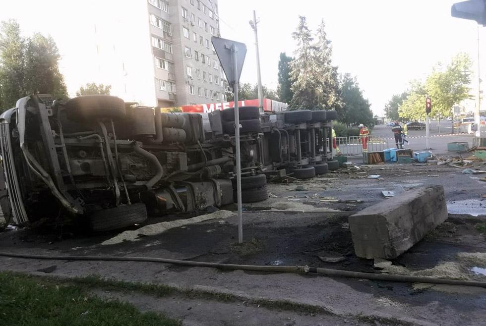 Смертельное ДТП в Днепре: два человека погибло
