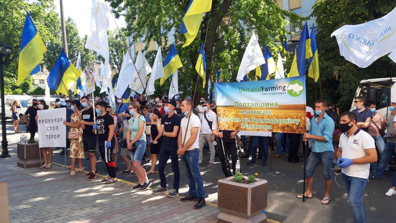 В Киеве бессрочная акция протеста сотрудников