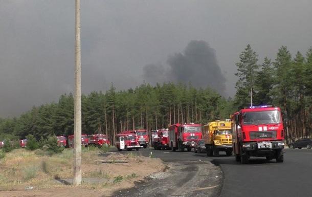 Пожары в Луганской области просят признать ЧС госуровня