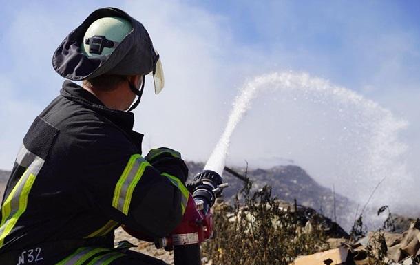 Пожары в Луганской области тушат пятые сутки