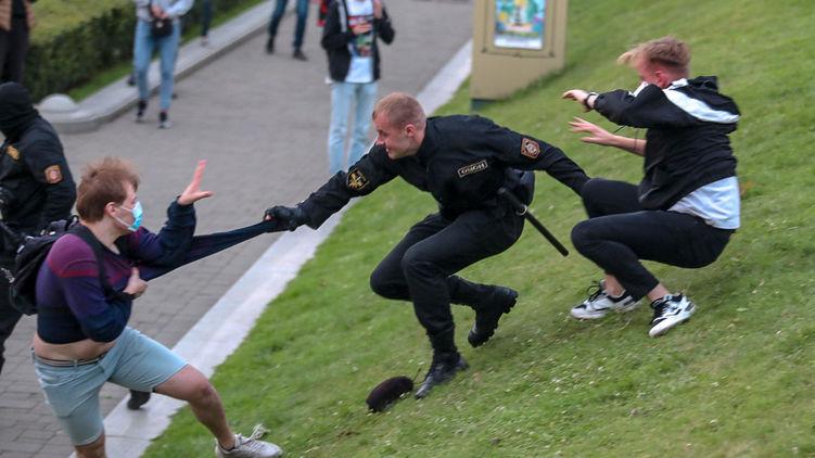 В Беларуси прошли митинги протеста против решения ЦИК