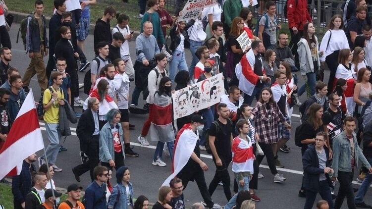 На протестах в Минске никого не задержали