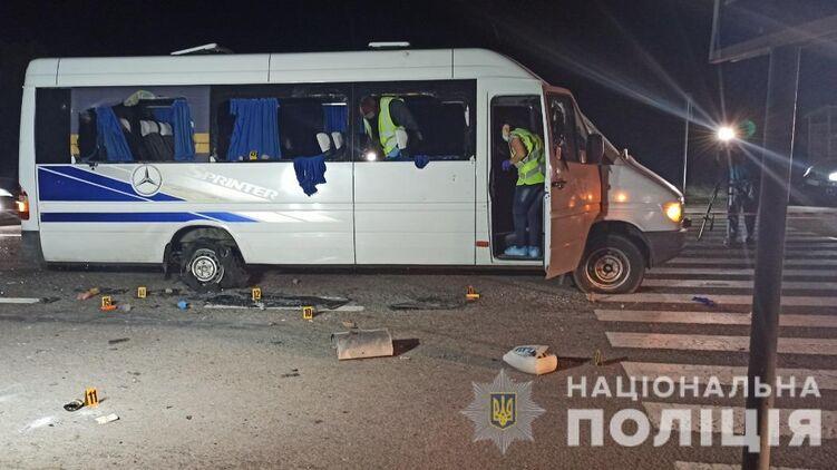 Суд в Харькове приговорил девятерых подозреваемых в нападении на автобус к двум месяцам ареста