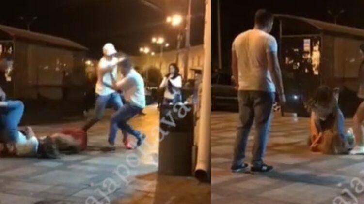 В центре Полтавы произошла драка между девушками