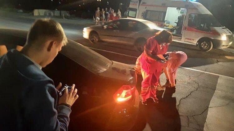 Сын кандидата в мэры Кривого Рога сбил ребенка на пешеходном переходе