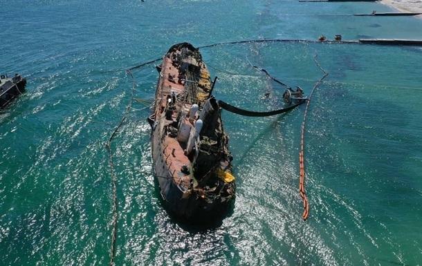 Почти 500 тыс. грн. сумма убытков из-за танкера Delfi