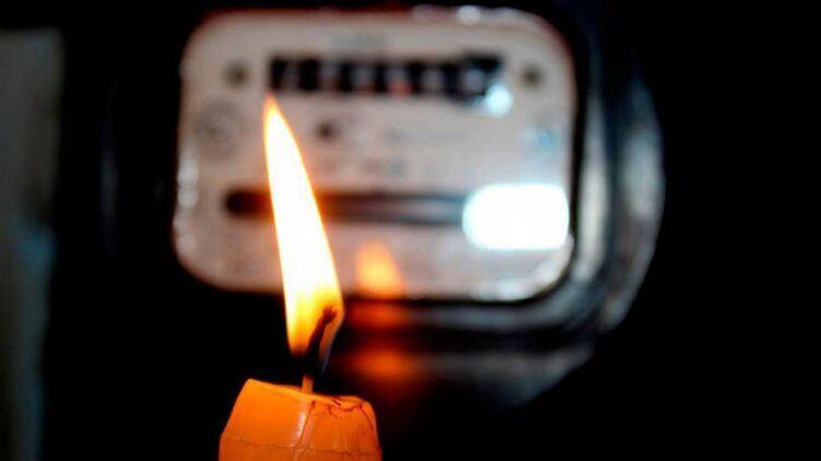 В Черниговской области без электричества остались около 20 населенных пунктов