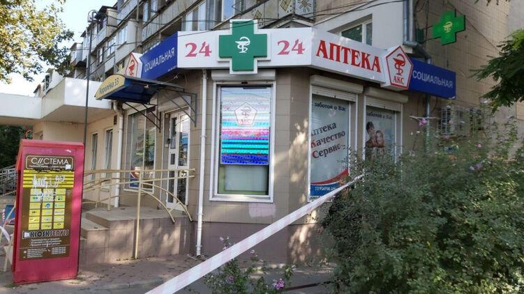 В Одессе в аптеке неизвестный зарезал 21-летнюю девушку-фармацевта