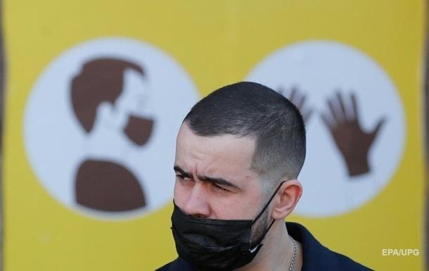Второй день подряд в  Украине антирекорд по коронавирусу