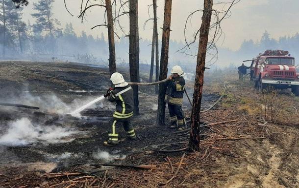 В Луганской области ликвидировали один из очагов пожаров