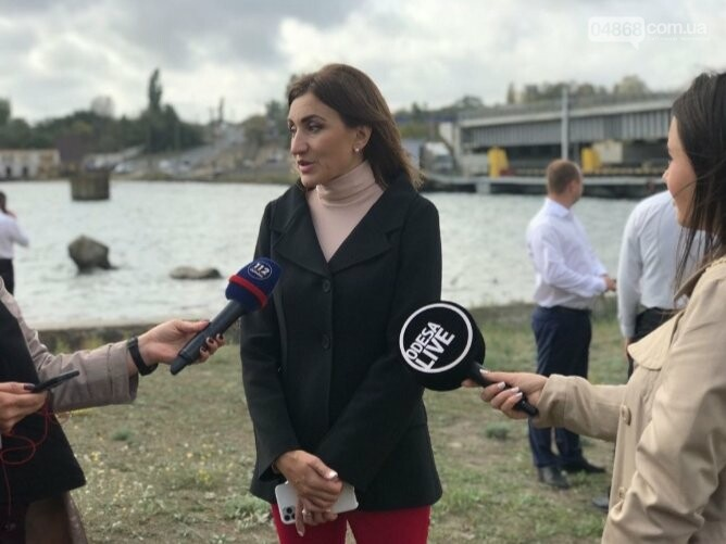 Плачкова: Завершение строительства моста в Черноморске будет победой всех жителей города