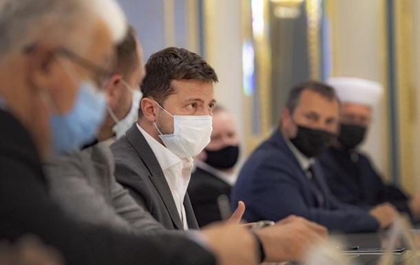 Владимир Зеленский предложил привлечь в ТКГ по Донбассу представителей церквей