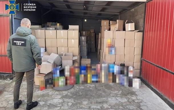 В Винницкой области преступники организовывали подпольные цеха  контрафактного алкоголя