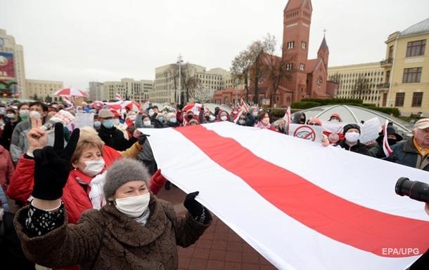 Правоохранительные органы более 1000 человек на акциях протеста в Беларуси