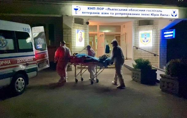 Во Львовском областном госпитале взорвался кислород
