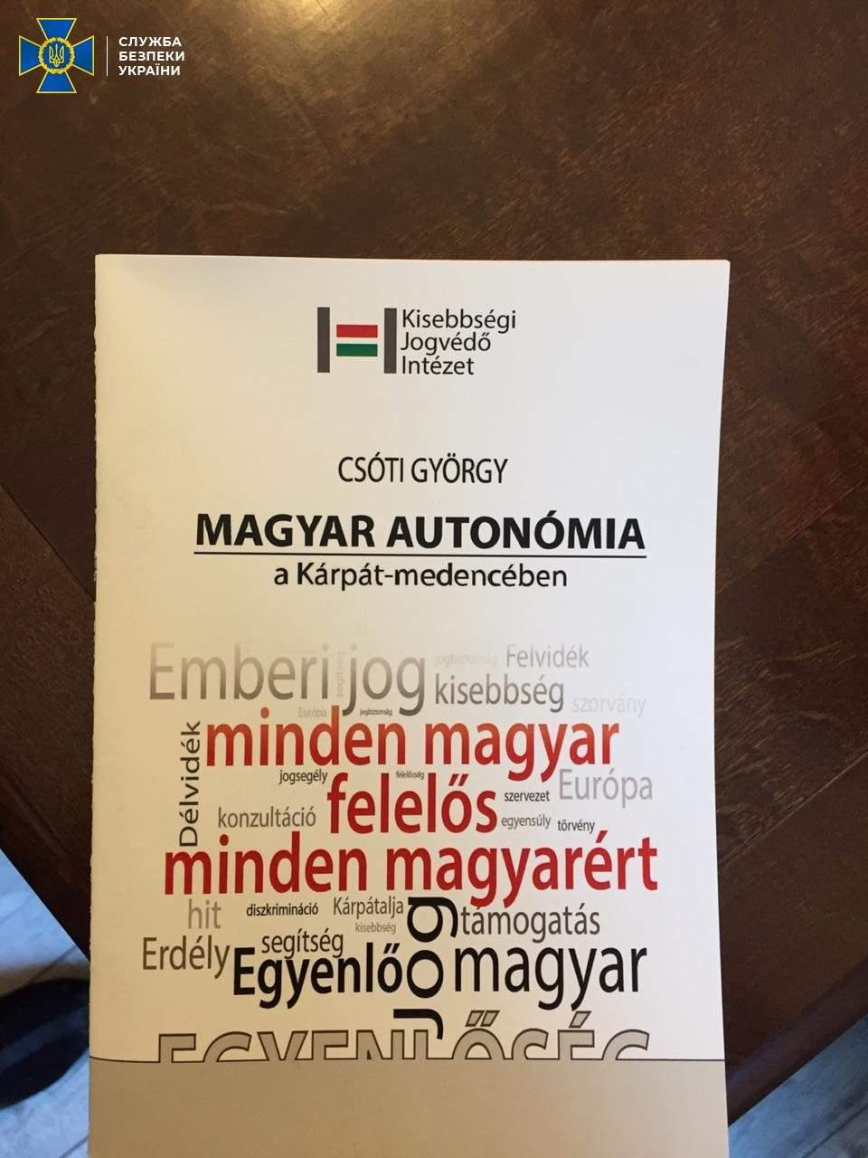 Венгров Закарпатья обвиняют в сепаратизме