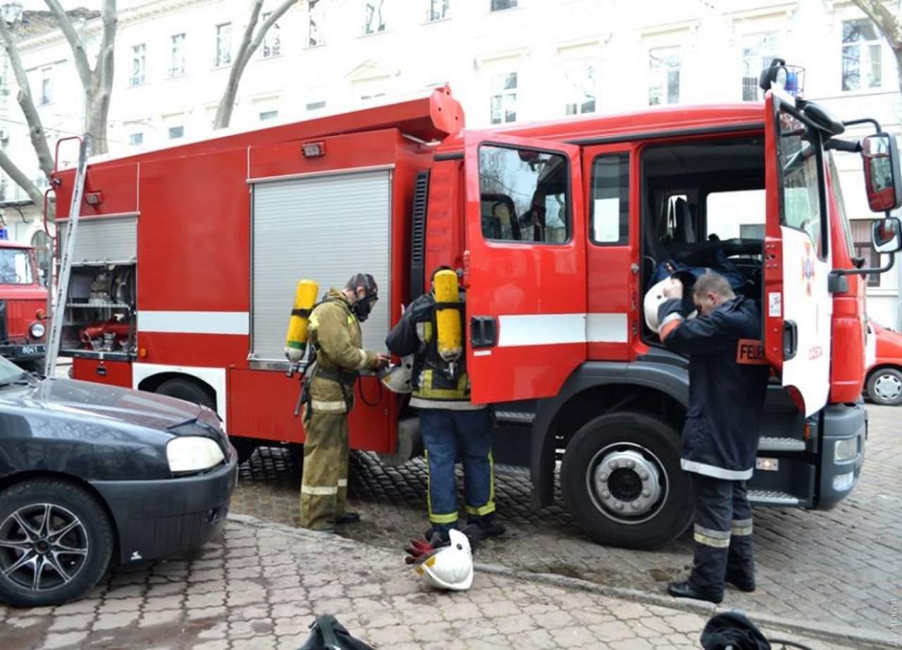 В центре Тернополя произошел пожар в ресторане