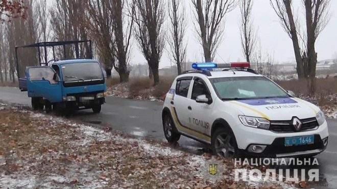 В Одесской области мужчина на автомобиле пытался сбить правоохранителей(ВИДЕО)