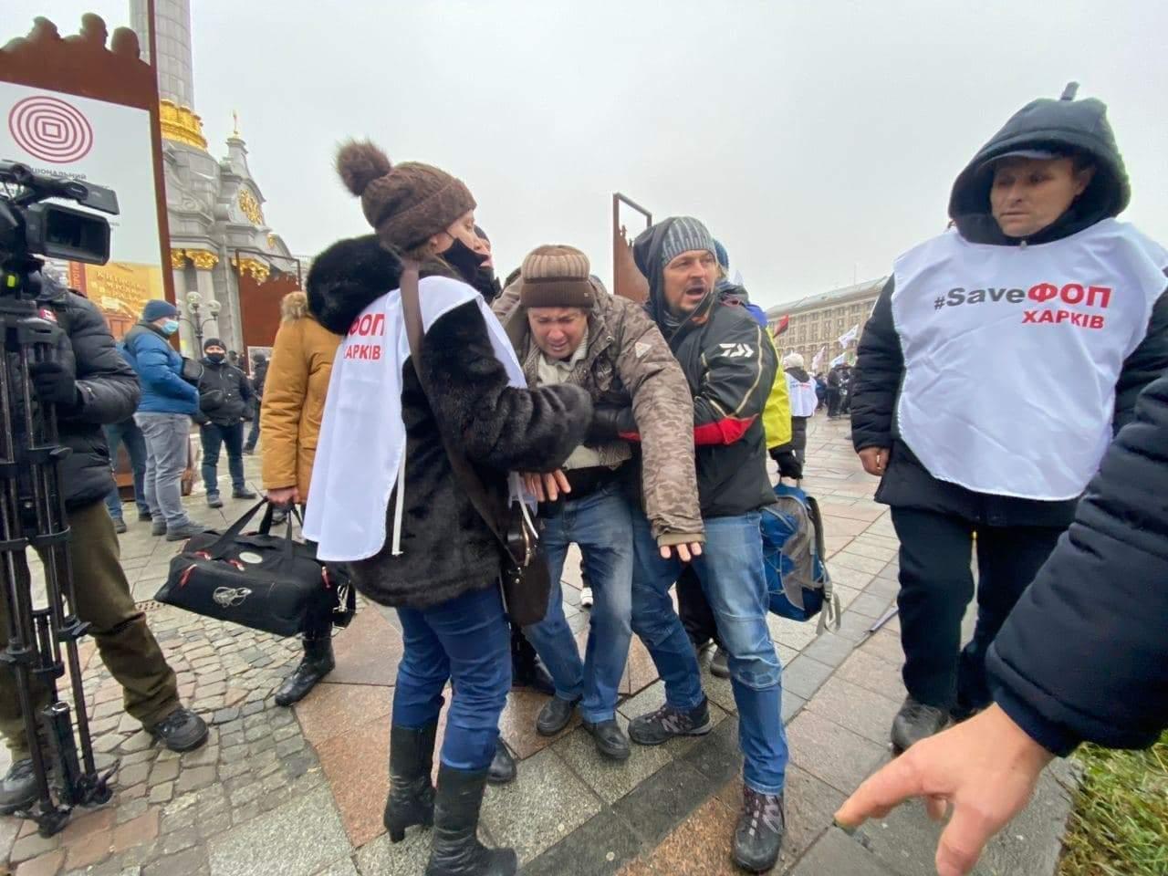 ФОПовцы собираются ночевать на Майдане