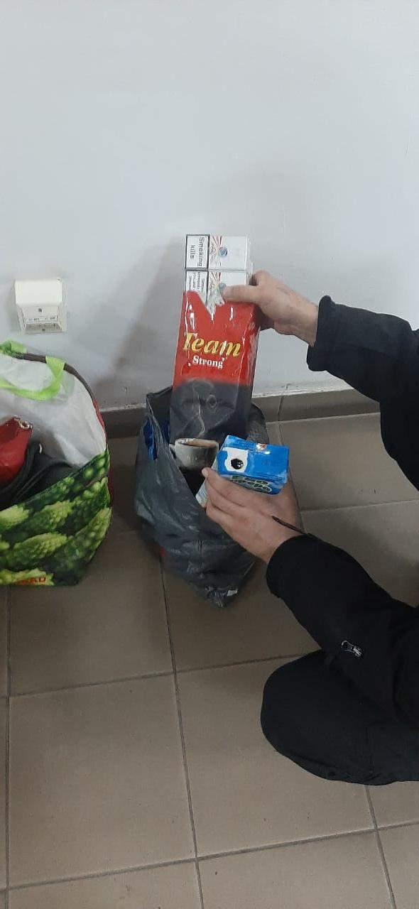 "Контрабанда сигарет на границе с Румынией через ПП ""Солотвин"""