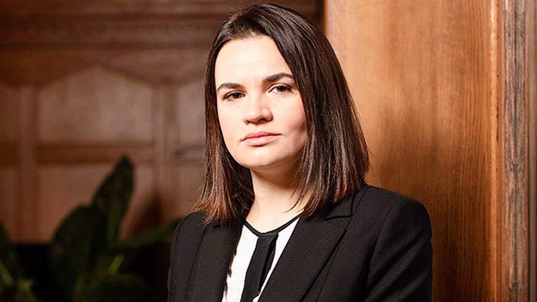 Тихановская требует ужесточить санкции против Беларуси (Видео)