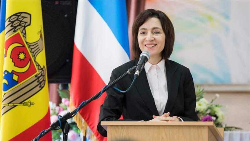 В Молдове прошла инаугурация Санду