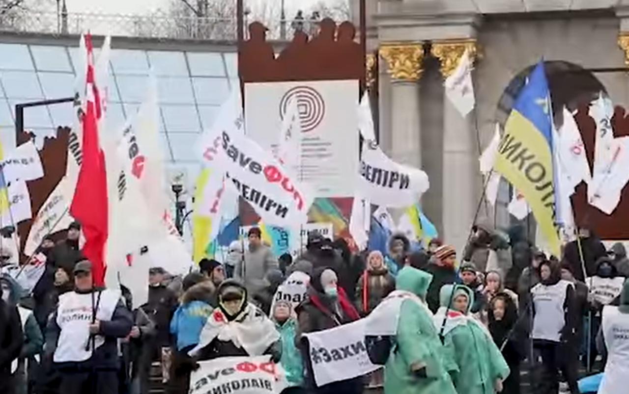 ФОПовцы встретят Новый год на Майдане (ВИДЕО)