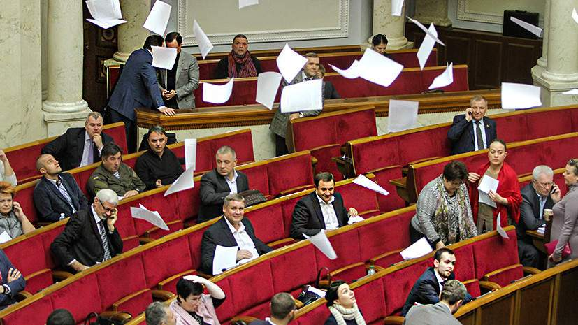 Рада сэкономила 30 млн. гривен на депутатах-прогульщиках