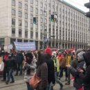 В столице Австрии прошел массовый протест против локдауна (ВИДЕО)