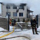 В Харькове сгорел дом престарелых: есть жертвы и пострадавшие