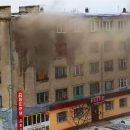 В Павлограде загорелось общежитие: людей срочно эвакуировали (ВИДЕО)