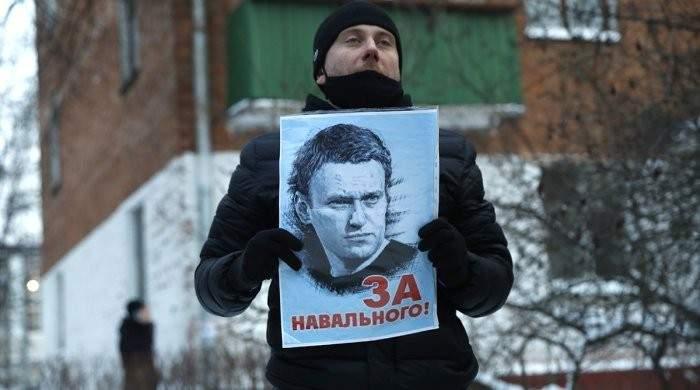 По всей России проходят протесты в поддержку оппозиционера Навального