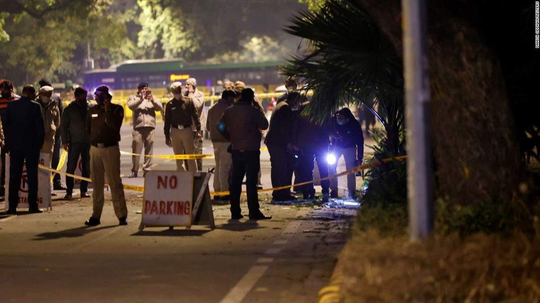 В Индии возле посольства Израиля произошел взрыв: пострадавших нет