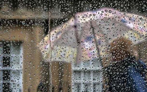 На Украину надвигаются сильные дожди